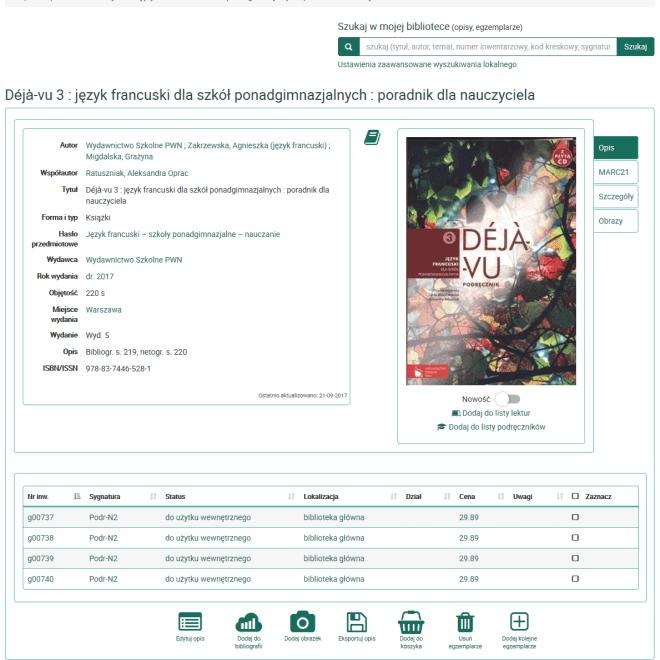 Screenshot-2017-10-31 Déjà-vu 3 język francuski dla szkół ponadgimnazjalnych poradnik dla nauczyciela - e-Biblio
